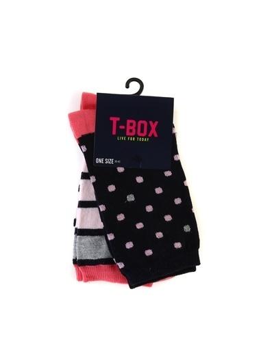 T-Box Soket Çorap Lacivert